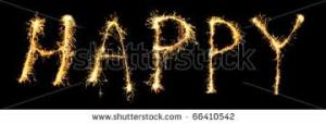 picture of word happy