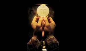 Eucharist and chalice #2