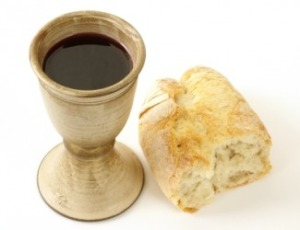 presence in bread and wine