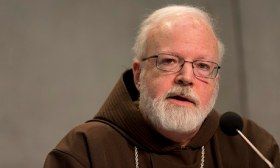 Cardinal Seán O'Malley announces the pope's plans for a panel to advise him on clerical sex abuse