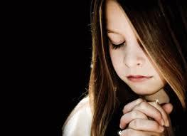 child in prayer