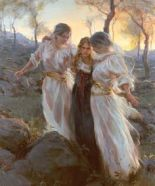 angels ministering