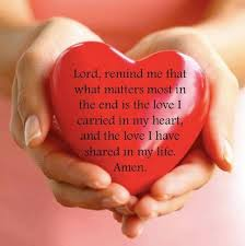 Prayer and love quote