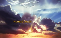 picture for honest doubt