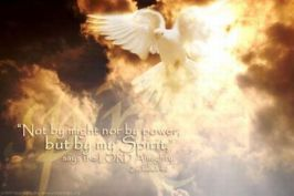 holy spirit not by power