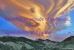 picture for Develop an attitude of gratitude