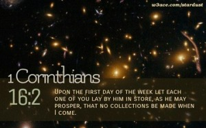 1 Corinthians 16 2