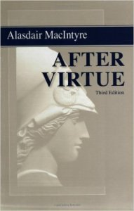 After Virtue book cover