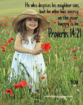 Proverbs 14 21