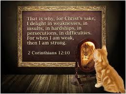 II Corinthians 12 10