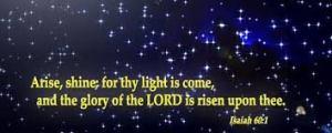 Isiah 60 1 6