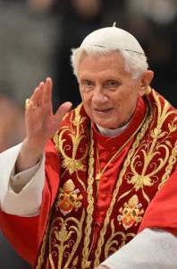 Pope Benedict 16th