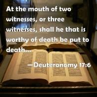 Deuteronomy 17 6
