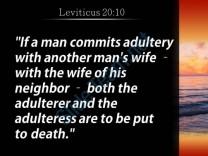 Leviticus 20 10