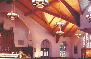 interior of St. Monica Church