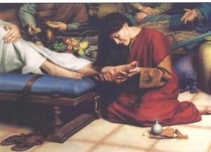 Anointing Feet of Jesus