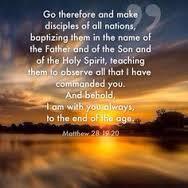 Matthew 28 19 20