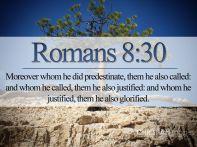 Romans 8 30