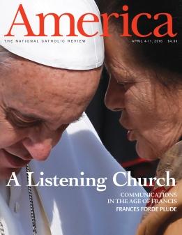 America Magazine cover