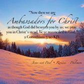 2 Corinthians 5 20