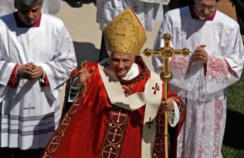 Pope Benedict in Washington DC