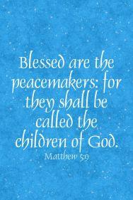 Matthew 5 9
